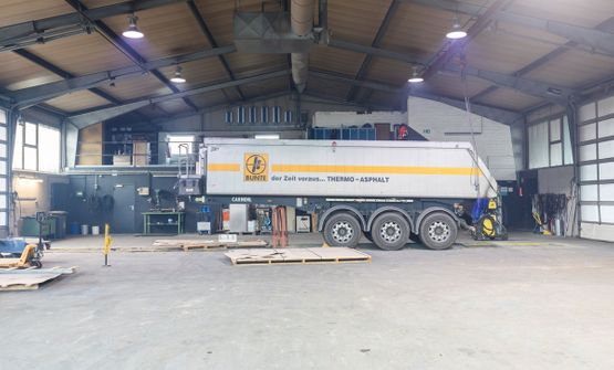 Frericks Metallbau GmbH & Co. KG - Repair work on a truck body